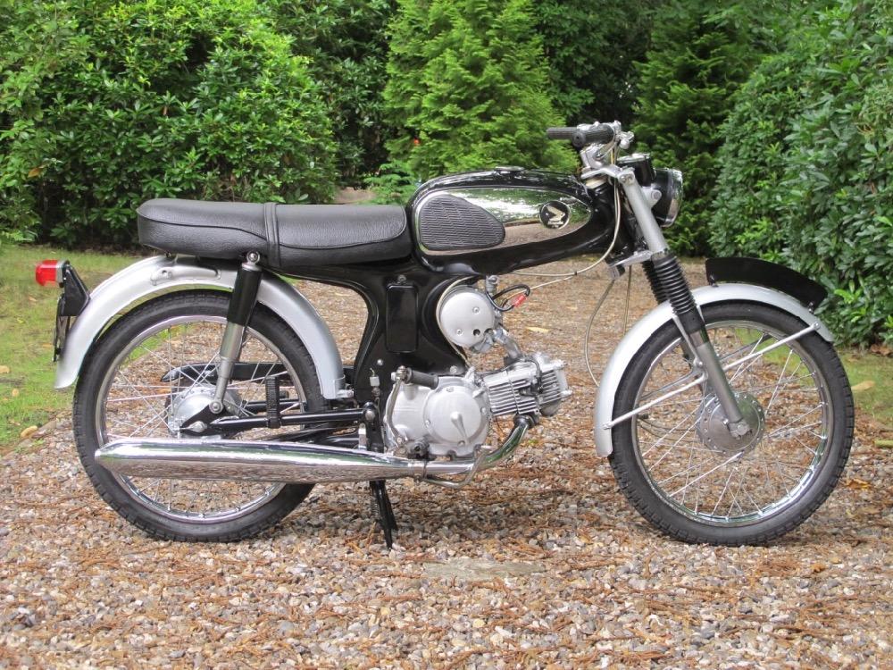1966 honda s90 value